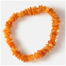 Yellowish amber bracelet