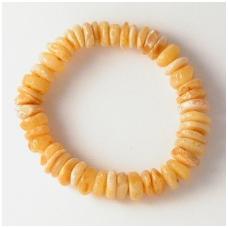 Yellow amber bracelet 10 units