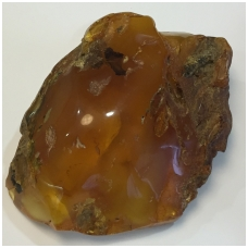 Polished Baltic amber piece