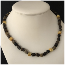 Amber necklace for man