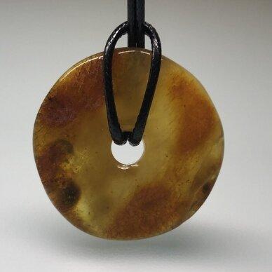 Gintaro amuletas - pakabukas