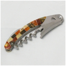 Corkscrew decorated with amber mosaic