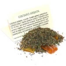 Amber tea