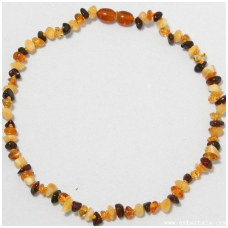 Amber necklace for children 20 units