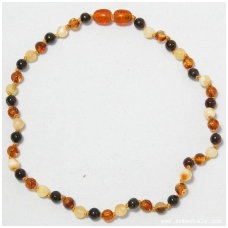 Amber necklace for children