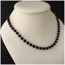 "Amber necklace ""Pearl"""