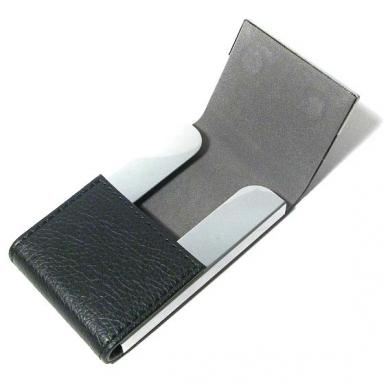 Vizitinių kortelių dėklas dekoruotas gintaru 5 vnt. 2